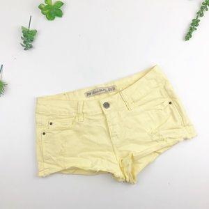 Zara TRF denim washed Summer Shorts